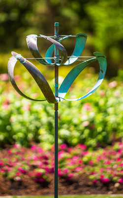 Title: 78. Windflower , Medium: Copper and Steel , Price: $900
