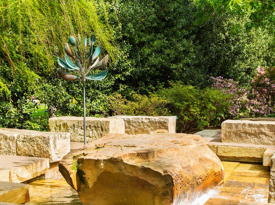Dallas Arboretum | Ginsburg Plaza