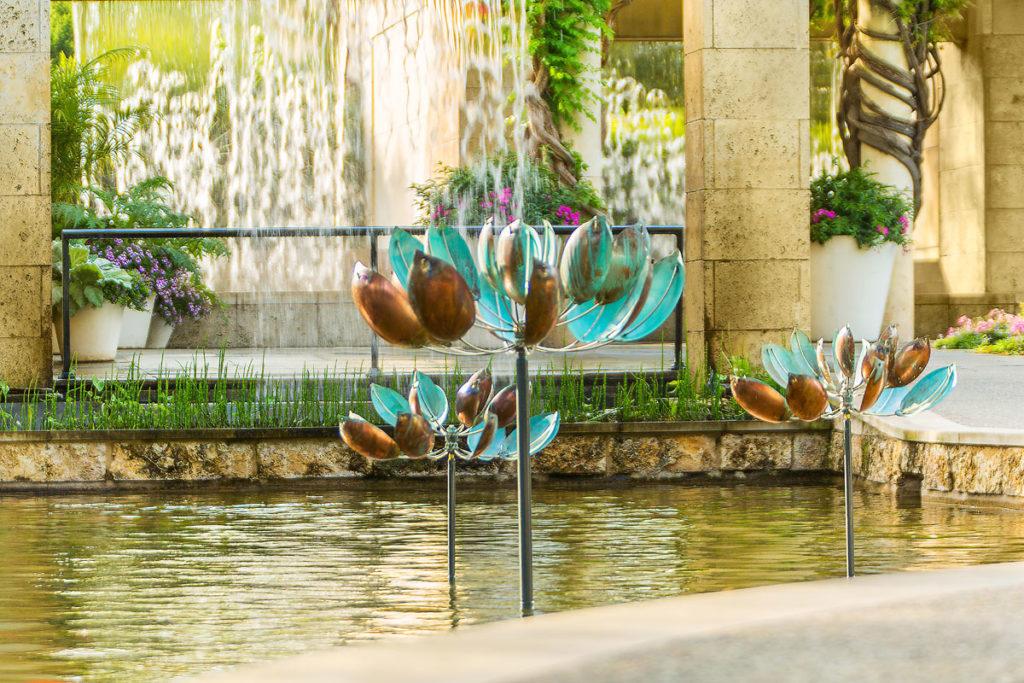 Dallas Arboretum | Water Walls