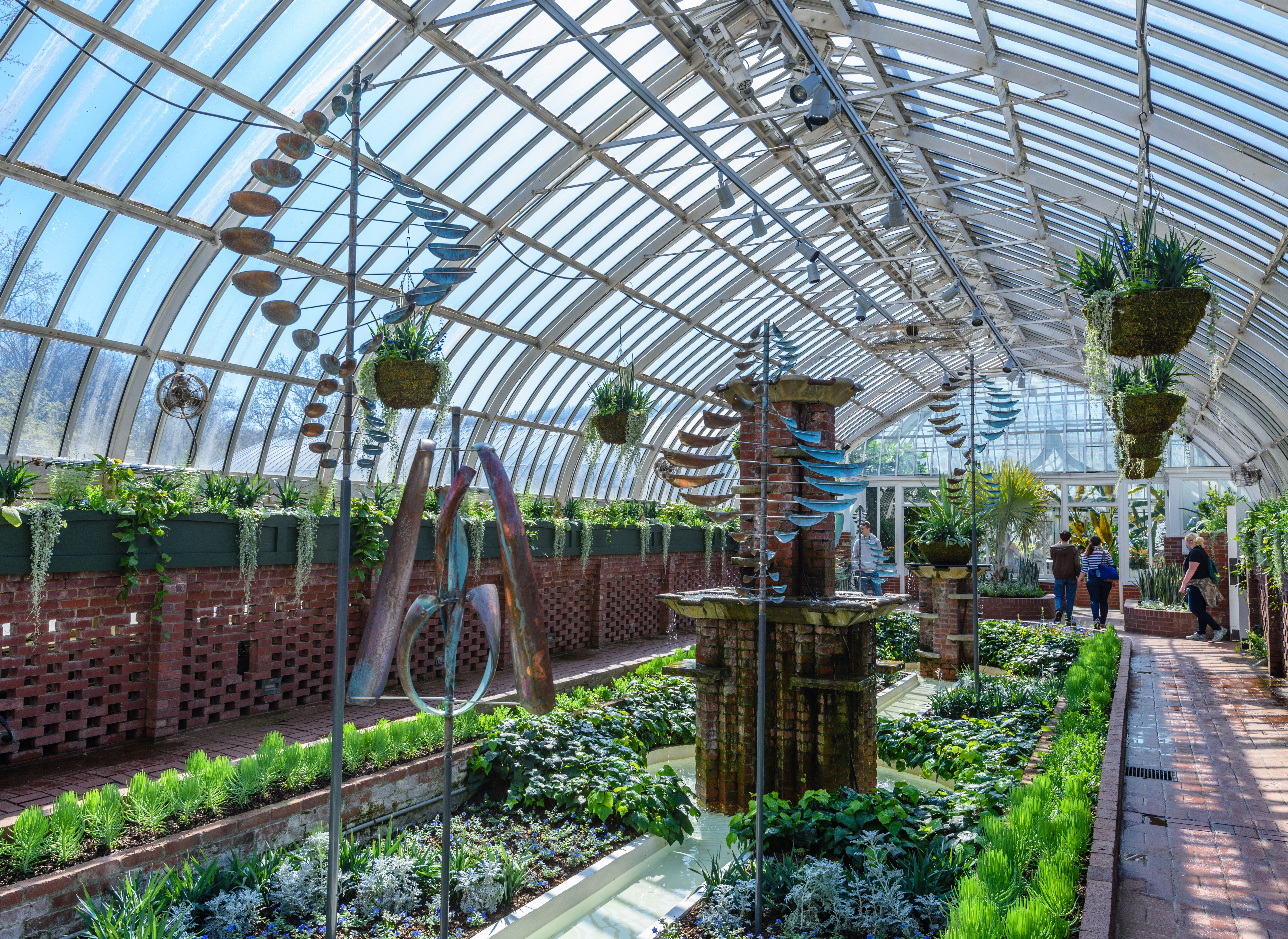 Lyman Whitaker Wind Sculptures at Phipps Conservatory and Botanical Gardens