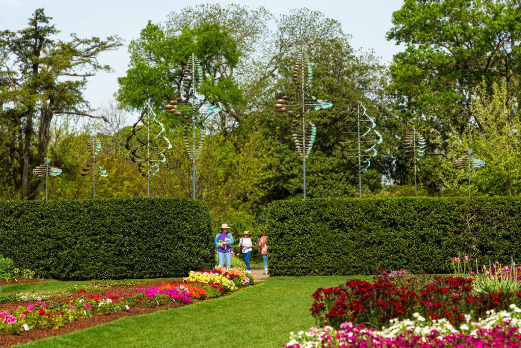 Dallas Arboretum | Trial Gardens' Entrance