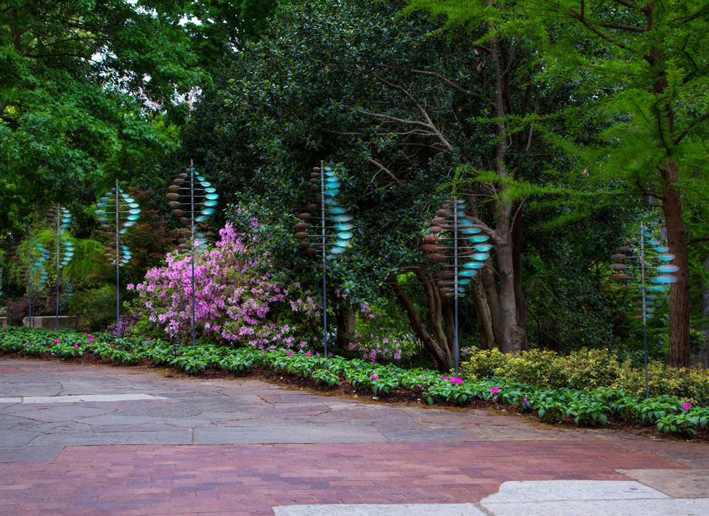 Dallas Arboretum | Entrance Walkway