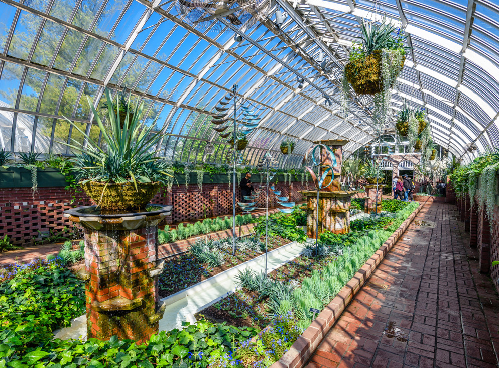 Phipps Conservatory and Botanical Gardens - Sunken Garden