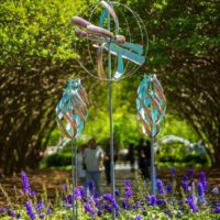 Lyman Whitaker Adds XL Nebula to Wind Sculpture Designs