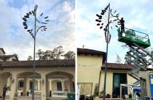 Gigantic Whitaker Wind Sculpture Install